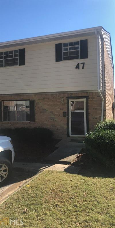 Union City Condo/Townhouse New: 4701 Flat Shoals Rd #47H