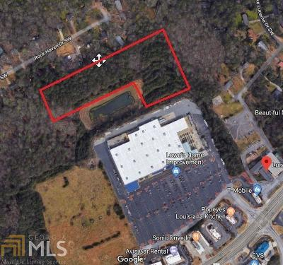 Lilburn Residential Lots & Land New: 4855 Mountain Hwy #6