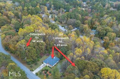 Lawrenceville Residential Lots & Land Under Contract: 211 Cottonpatch Rd #36