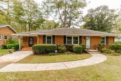Dekalb County Single Family Home Under Contract: 2447 Hunting Valley Dr