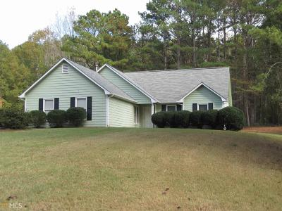 Newnan Single Family Home Under Contract: 185 Widewater Dr