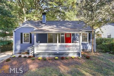 Atlanta Single Family Home New: 707 Woods Dr