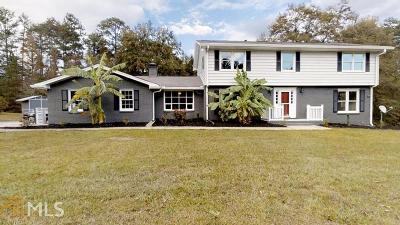 Fairburn Single Family Home New: 8665 Clark Rd