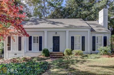 Atlanta Single Family Home New: 1850 Greystone Rd