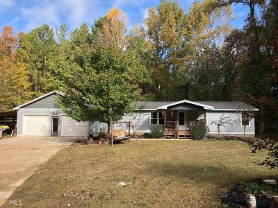 Senoia Single Family Home Under Contract: 109 West Rd