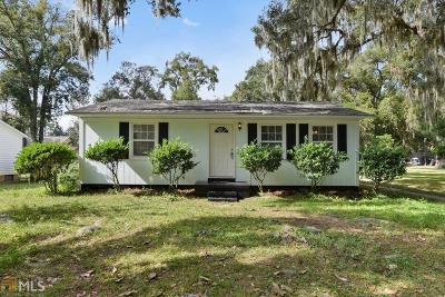 St. Marys Single Family Home For Sale: 109 Borrell Blvd