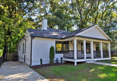 Atlanta Single Family Home New: 326 Lamon Ave