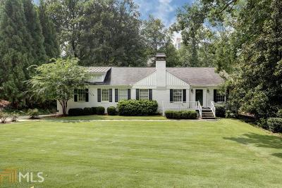 Atlanta Single Family Home New: 3750 Narmore Dr