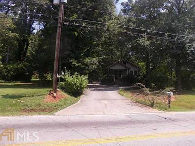 Decatur Single Family Home New: 3460 Waldrop Rd