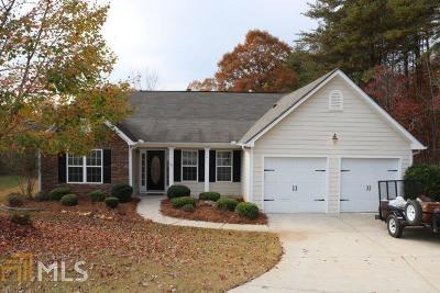 Dawsonville Single Family Home New: 172 Aplomado Ln