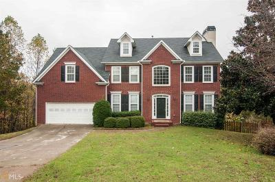 Suwanee Single Family Home New: 264 Lake Ruby