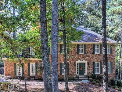 Sandy Springs Single Family Home New: 390 Stone Mill Trl