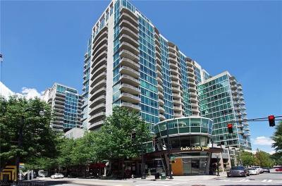 Condo/Townhouse Under Contract: 943 Peachtree St #1101