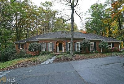 Sandy Springs Single Family Home For Sale: 6270 Mountain Brook Ln