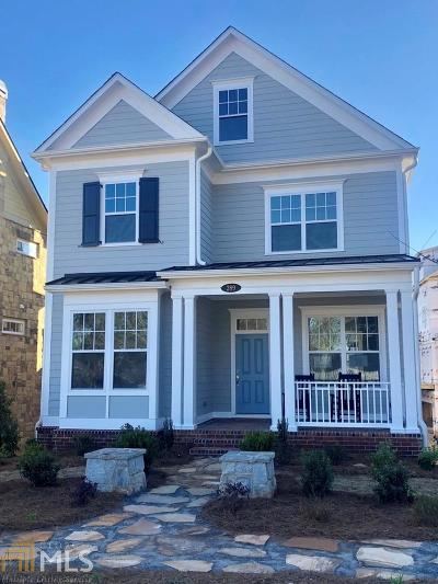 Alpharetta Single Family Home New: 289 Thompson St