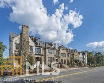 Alpharetta Condo/Townhouse New: 119 Lilly Garden Pl #14