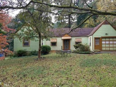 Atlanta Single Family Home New: 1320 Eastridge Rd