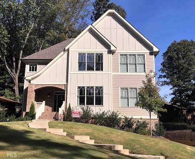 Atlanta Single Family Home New: 1233 Vista Valley Dr