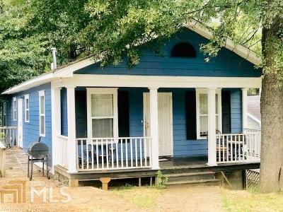 Atlanta Single Family Home New: 1175 Moton Ave