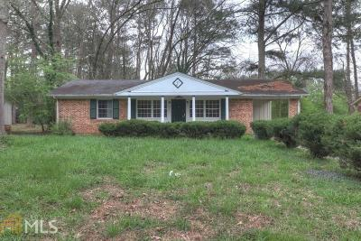 Decatur Single Family Home Under Contract: 4433 Mercer Rd