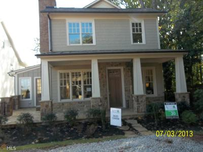 Norcross Single Family Home New: 5640 Vineyard Park Trl