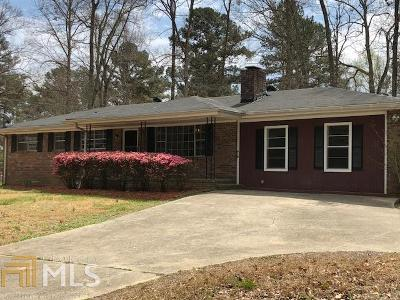 College Park Single Family Home Under Contract: 2490 Nevels