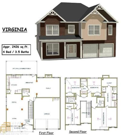 McDonough GA Single Family Home New: $264,900