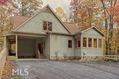 Rabun County Single Family Home Under Contract: 179 Bald Mountain Rd