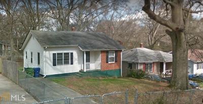 Atlanta Single Family Home New: 980 Welch Street