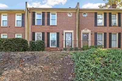 Coweta County Condo/Townhouse Under Contract: 3 College St