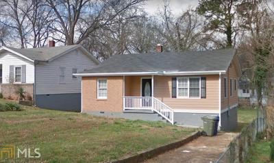 Atlanta Single Family Home New: 972 Welch Street