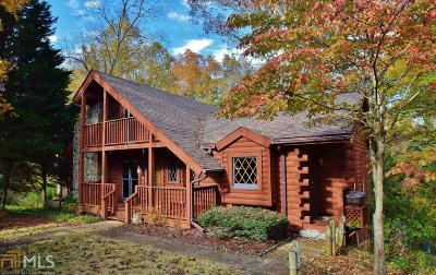 Dawsonville Single Family Home For Sale: 15 N Chestatee Pt