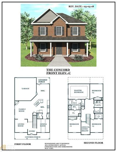 Stockbridge GA Single Family Home Under Contract: $206,900