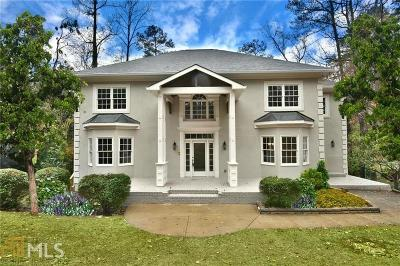 Roswell, Sandy Springs Single Family Home For Sale: 6560 Old Cabin Rd