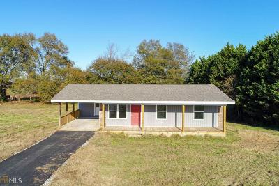 Elbert County, Franklin County, Hart County Single Family Home Under Contract: 1121 Grace Baptist Church Rd