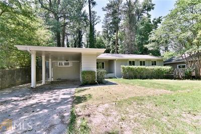 Atlanta Single Family Home New: 1488 Brook Valley Ln