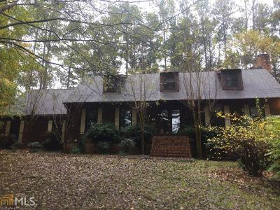 Peachtree City Single Family Home Under Contract: 263 Greenwood Ln #5.65 Ac