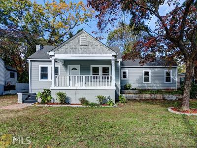Hapeville Single Family Home Under Contract: 533 North Ave