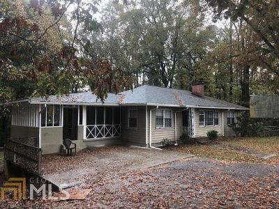 Atlanta Multi Family Home New: 2490 Fairburn Rd