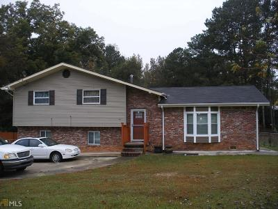 Clayton County Single Family Home New: 6141 Walker Rd