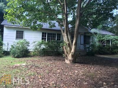 Lithonia Single Family Home New: 3845 Snapfinger Rd