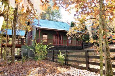 Dawson County Single Family Home Under Contract: 5463 Cowart Rd
