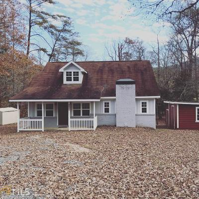 Hiawassee Single Family Home Under Contract: 2760 Fodder Creek Rd