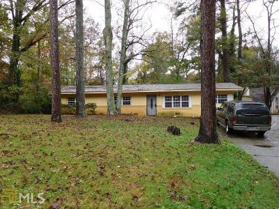 Atlanta Single Family Home New: 2395 Butner Road SW