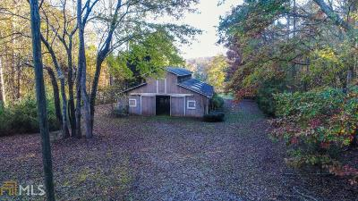 Alpharetta, Milton, Roswell Single Family Home For Sale: 575 Hickory Flat Rd
