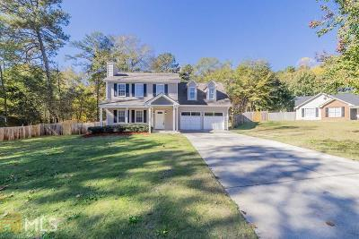 Conyers Single Family Home New: 2208 Ridgewood Court NE