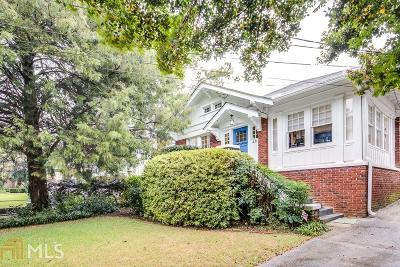 Atlanta Single Family Home New: 471 Clifton Rd