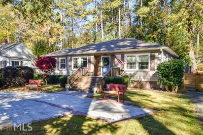 Atlanta Single Family Home New: 996 Lindbergh Dr