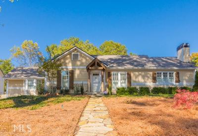 Roswell, Sandy Springs Single Family Home For Sale: 126 Hardeman Rd