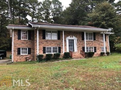 Lithonia Single Family Home New: 1668 Stephenson Road